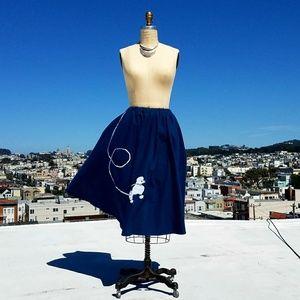 Dresses & Skirts - Handmade Felt Poodle Skirt, Sz L